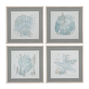 Bassett Mirror Company Seaside Blockprints Set