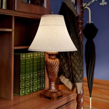 HSI Elegant Bronze Table Lamp