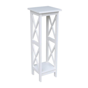 Whitewood Industries X-Side Plant Stand White