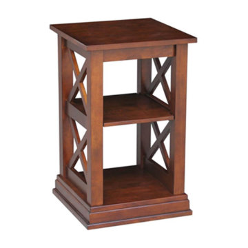 Whitewood Industries Hampton Accent Table Espresso