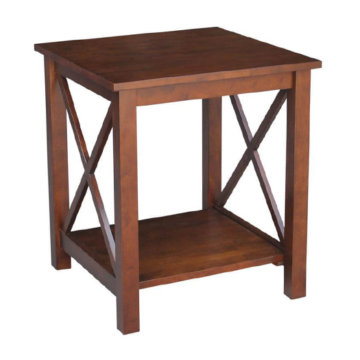 Whitewood Industries Hampton End Table Espresso