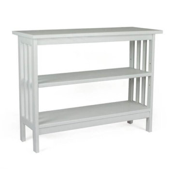 "24"" mission bookcase white"