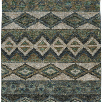 Capel Rugs Bengal Sea Green Natural Rug