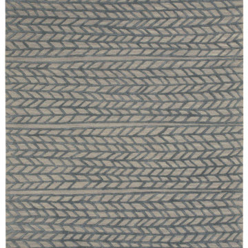 Capel Rugs Ancient Arrow Grey Pigeon Area Rug