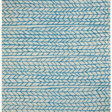 Capel Rugs Ancient Arrow Stone Azure Area Rug