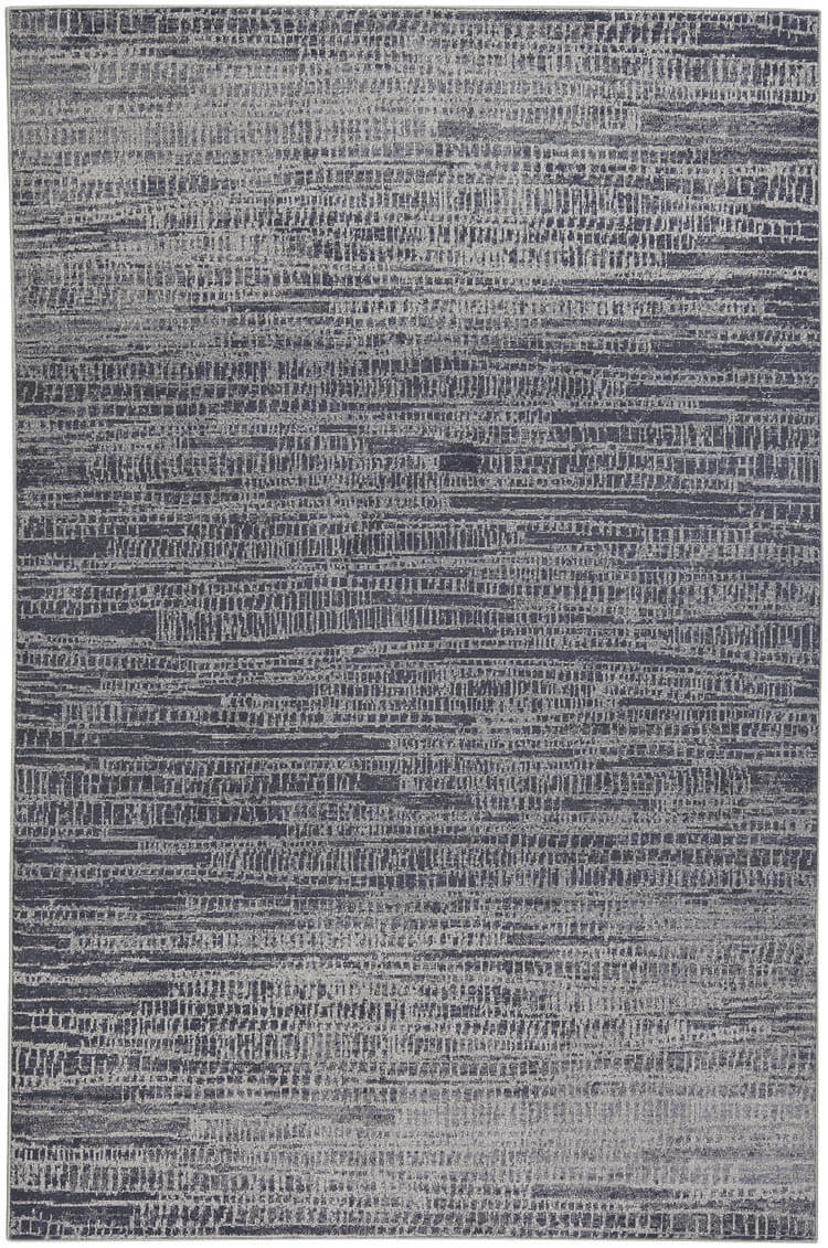 Metropolis Skyline Slate Area Rug Furnishings Warehouse