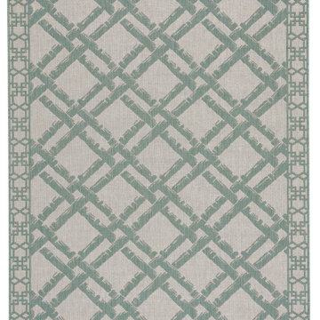 Capel Rugs Finesse Bamboo Trellis Spa Area Rug