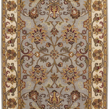 Capel Rugs Eloquent Garden Garden Grey Area Rug