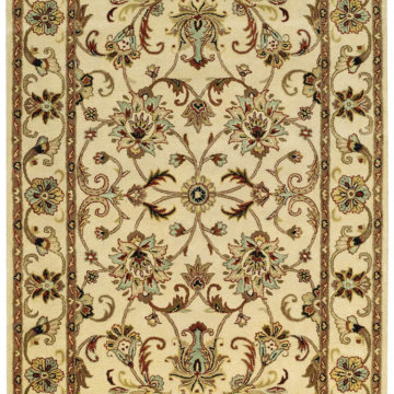 Capel Rugs Eloquent Garden Antique Ivory Area Rug