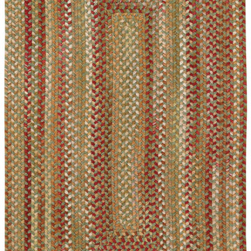 Capel Rugs Homecoming Evergreen Rectangular Rug