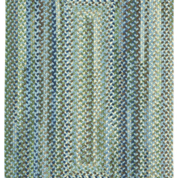 Capel Rugs Homecoming Sky Blue Rectangle Rug