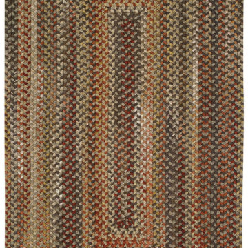 Capel Rugs Homecoming Chestnut Brown Rectangle Rug