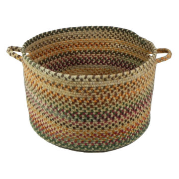 Capel Rugs Bear Creek Wheat Basket