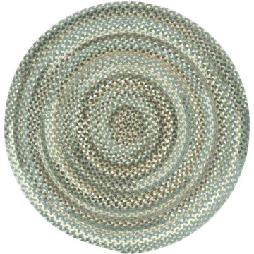 Capel Rugs Bear Creek Olive Branch Round Rug