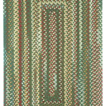 Capel Rugs Bear Creek Hunter Green Rectangle Rug