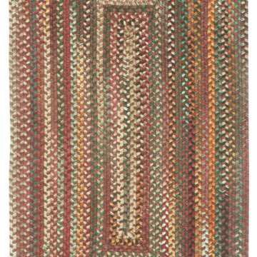 Capel Rugs Bear Creek Heritage Red Rectangle Rug